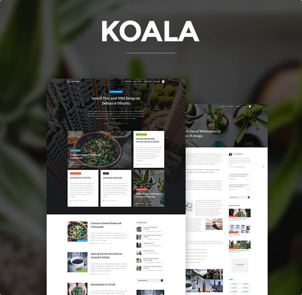 Koala - Responsive WordPress Theme