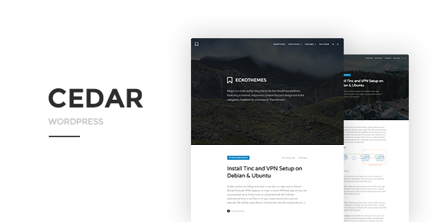 Cedar for WordPress